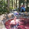 Rose spring pool