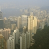 HK island from the Peak