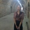 Miss Jou tourguide for Yunnan winery