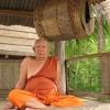 Pottery Village Monk