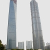WTC and Jin Mao towers