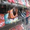 Handmade silk shoes
